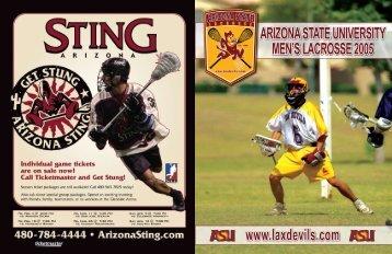 2005 roster - Arizona State University