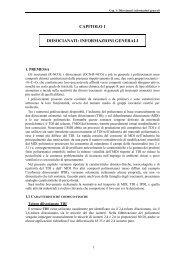 capitolo 1 diisocianati - Extranet Regione Piemonte