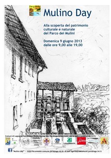 Leggi il pieghevole - Ecomuseo e Agenda 21 Parabiago