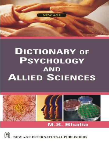 Dictionary of Psychology & Allied Sciences