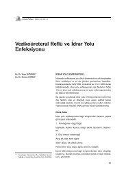 Vezikoüreteral Reflü ve İdrar Yolu Enfeksiyonu