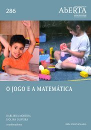 O Jogo e a Matemática - Universidade Aberta