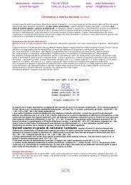 Ciclometria e metrica del lotto IN ITALIA
