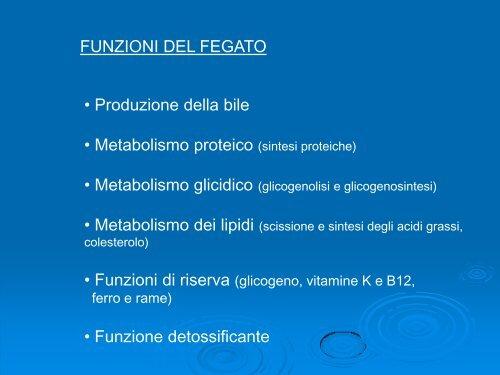 epatite e diagramma di dieta del paziente