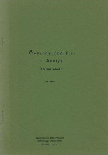 Boman - Övningsuppgifter i Analys (en variabel) - OCR.pdf