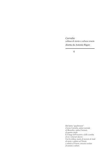 Intero volume in formato PDF 6 MB circa [vai.] - Provincia di Padova