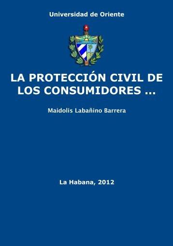 La protección civil de los consumidores en la compraventa ...