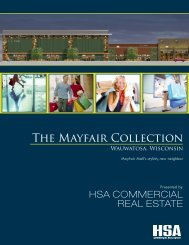 The Mayfair Collection - HSA Commercial Real Estate