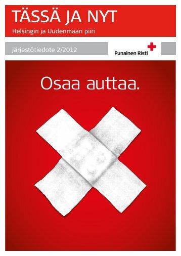 TN 2_2012, netti.pdf - RedNet - Suomen Punainen Risti