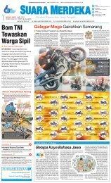 Bom TNI Tewaskan Warga Sipil