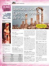 Jordânia, Israel e Egito com cruzeiro de 4 dias - Surland