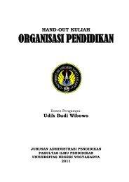 A 2011-2 Hand-out MK Organisasi Pendidikan.pdf - Staff UNY ...