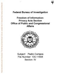 Campos - FBI Files on Puerto Ricans