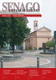 Ottobre 2010 - Senago Informazioni