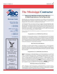 10-30-2006 The Mississippi Contractor.pdf - Msabc.net