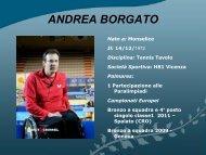 ANDREA BORGATO