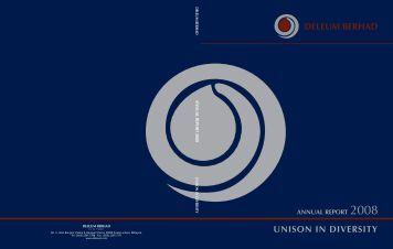 unison in diversity deleum berhad - ChartNexus