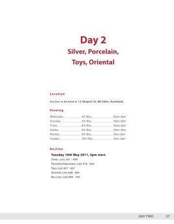 Day 2 – Silver, Porcelain, Toys, Oriental - Dunbar Sloane