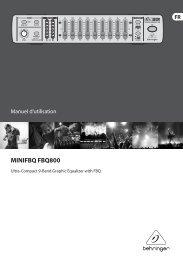 MINIFBQ FBQ800 - Behringer