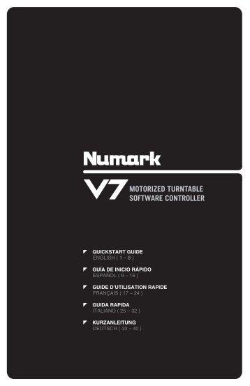 V7 Quickstart Guide - v1.1 - American Musical Supply
