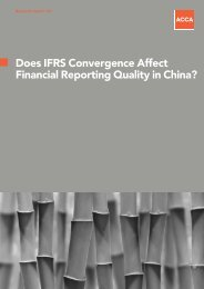 Does IFRS Convergence Affect Financial Reporting Quality in China?