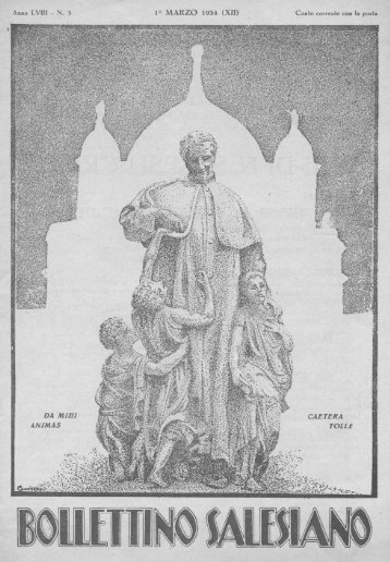 Bollettino Salesiano - marzo 1934 - il bollettino salesiano