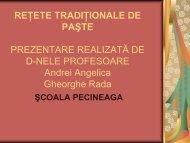 RETETE TRADITIONALE DE PASTE ... - Arte Constanta
