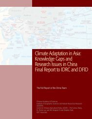 Climate Adaptation in Asia: Knowledge Gaps and Research Issues ...