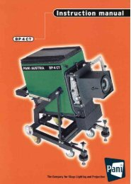 BP 4 CT (Turbo) Stage Projector - Pani Projection and Lighting