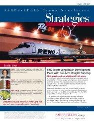 Strategies Newsletter Fall 2012 - Sares-Regis Group