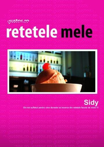 Sidy - retetele mele (Gustos.ro)