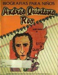 Andrés Quintana Roo - Bicentenario