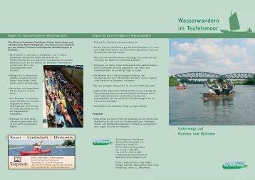 Wasserwandern im Teufelsmoor - Worpswede