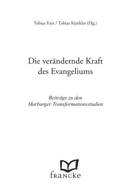 Die verändernde Kraft des Evangeliums - Worshipworld.de