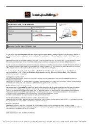 SKI SIMULATOR BASIC - PACK - 4 simulatori - Bodybuilding