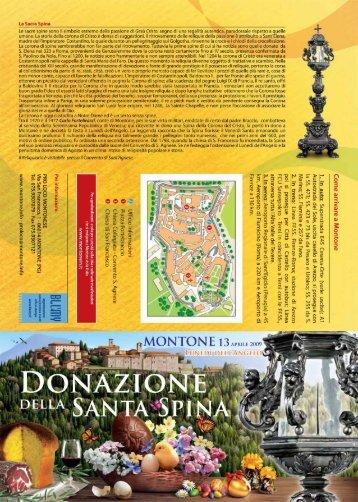 La Sacra Spina , per far fronte alle spese di guerra, alità autentica ...