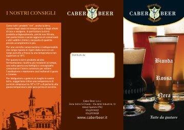 Bionda Rossa Nera - Caber Beer