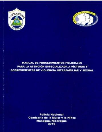 Manual de Procedimientos Policiales, para la ... - Policia Nacional