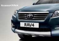 Accessori RAV4 - Toyota Forms: Toyota Prospekt
