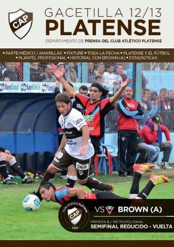 Semi vta vs Brown - Club Atlético Platense