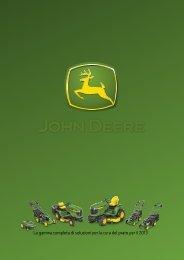 Tosaerba, Arieggiatori, Trattorini e EZtrak John ... - Green Trak Shop