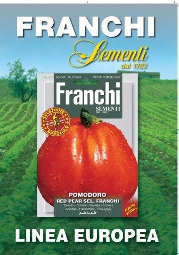 poster 70x100 – buste linea europea - Franchi Sementi