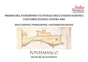 """Il testo """"Storia di un territorio: Pontemanco"""" - Città Invisibili"""