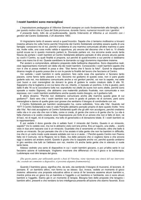 Agata (Corsetto S. Agata, 31) Ore 12.