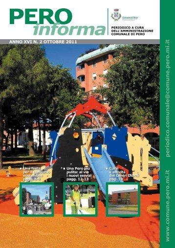 Ottobre 2011 - Comune di Pero