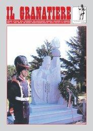n. 1 - gennaio - marzo 2007 - Associazione Nazionale Granatieri di ...