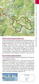 Wandertouren rund um Rosengarten und Latemar im Eggental - Page 5
