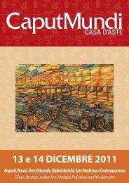 CaputMundi Catalogo Aste 18 e 19 del 13 e 14 Dicembre 2011