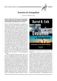 Evolution für Evangelikale - Wort und Wissen