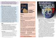 Evolution – Evolution – - Wort und Wissen